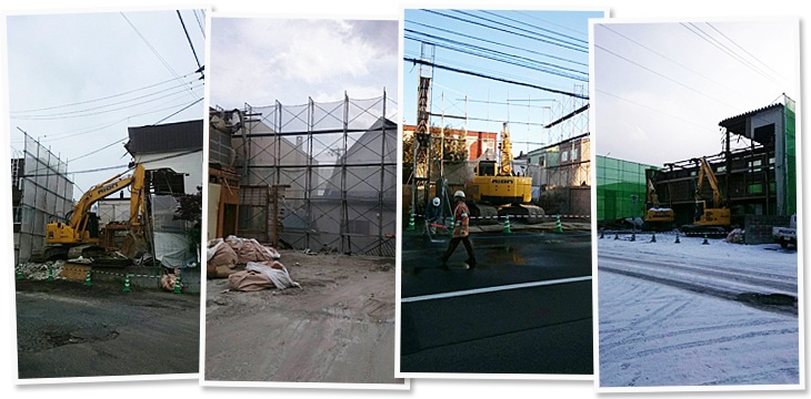 解体工事の流れ